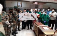 The Armed Forces express gratitude to 'corona warriors' at Sadhu Vaswani Mission's Medical Complex, Pune