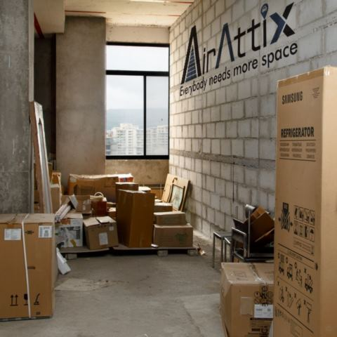 Airattix supports people to deal with storage problem during the lockdown