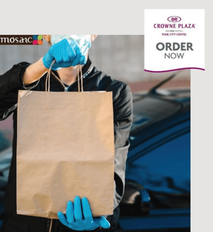 Crowne Plaza Pune City Centre's Food Delivery and Laundry Services