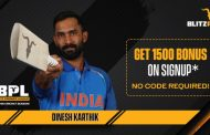 Indian Cricketer Dinesh Karthik joins hand with BLITZPOKER for Blitz Premier League