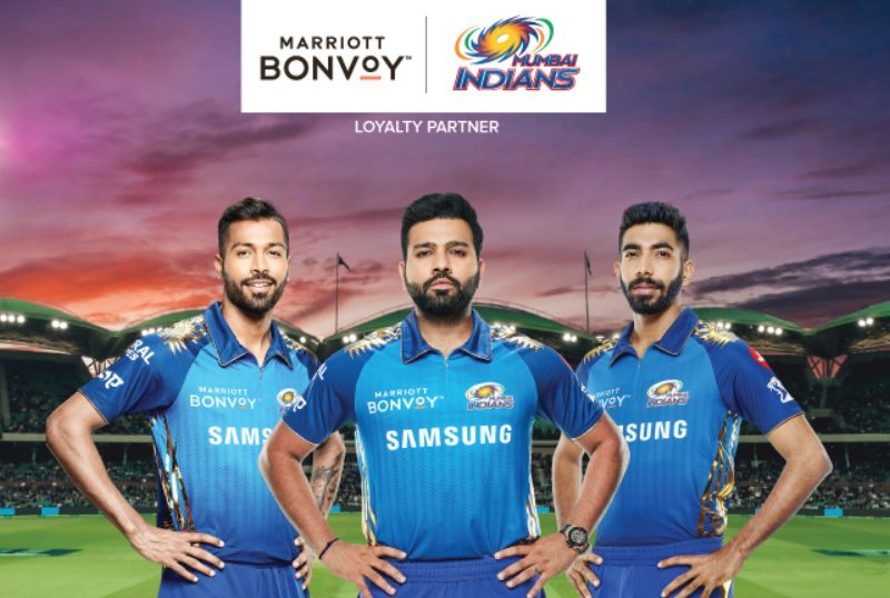 MARRIOTT BONVOY AND MUMBAI INDIANS ANNOUNCE SPONSORSHIP AGREEMENT FOR NEXT 3 YEARS