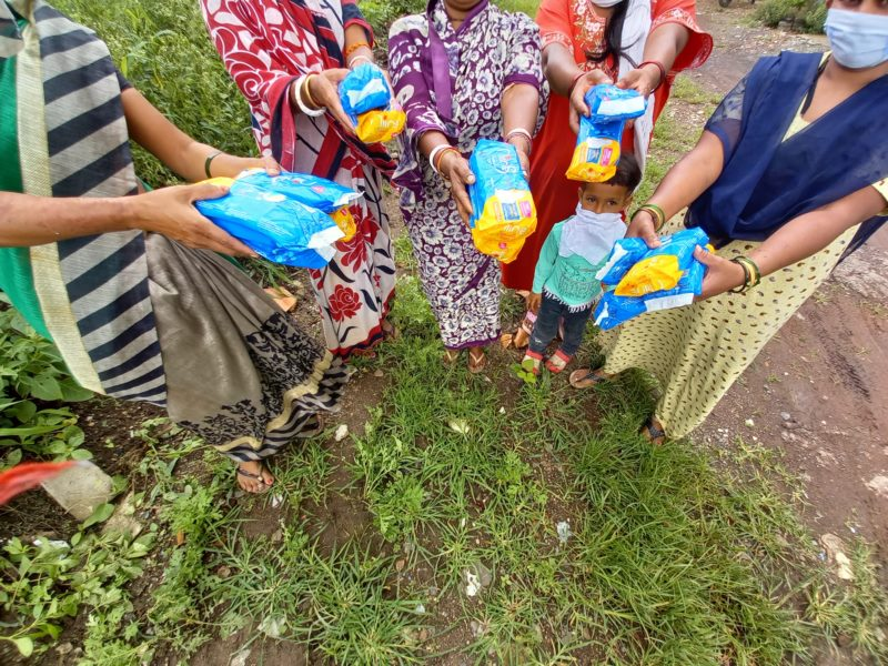 'Pad Squad' an initiative for distributing sanitary pads in Pune