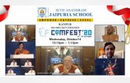 Governor of Rajasthan Shri Kalraj Misra inaugurated Comfest by Seth Anandram Jaipuria School, Kanpur