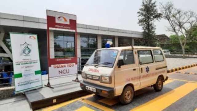 """The NorthCap University organizes vaccination camp for its employees and their immediate family members with the message: """"BE WISE and IMMUNISE"""""""