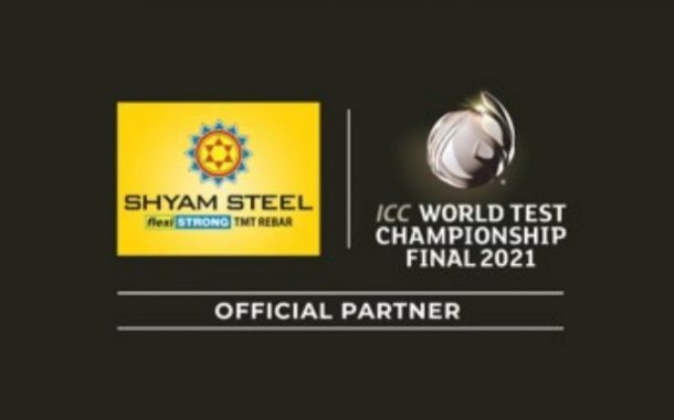 Shyam Steel India becomes the Official Partner of ICC World Test Championship Final