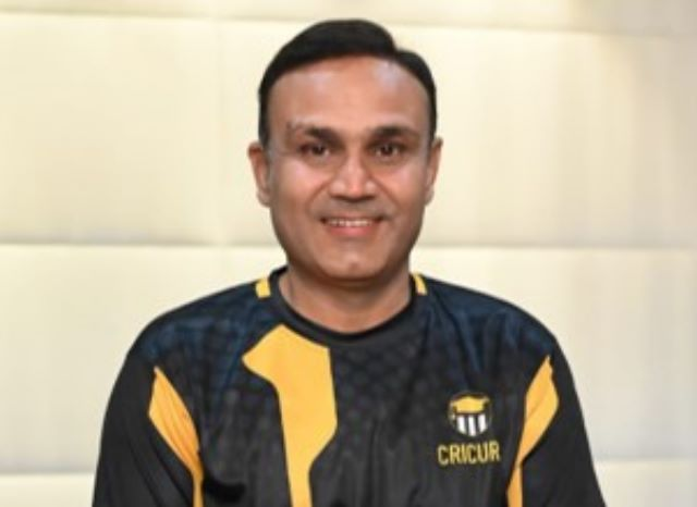 Renowned cricketer Virender Sehwag launches India's First Experiential learning website for Cricket - CRICURU